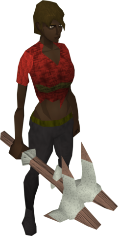 File:Sacred clay pickaxe equipped.png