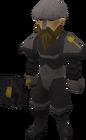 Black Guard male old