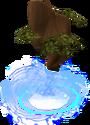 Divine oak tree detail