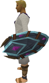 Soulbell shield equipped