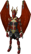Drakewing outfit equipped (female)