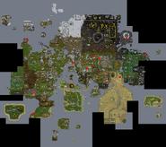 Runescape Earthquake map