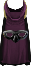 Hooded thieving cape (t) detail