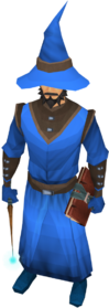 Wizard robes (blue) equipped