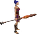 Fire staff (Dungeoneering) equipped.png