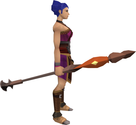 File:Fire staff (Dungeoneering) equipped.png