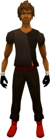 Death runecrafting gloves equipped
