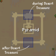 Jaldraocht Pyramid entrances locations