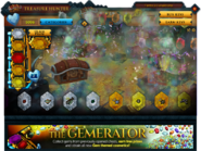 Treasure Hunter Gemerator interface