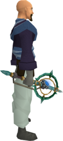 Augmented attuned crystal wand equipped