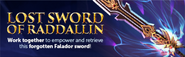 Lost Sword of Raddallin lobby banner
