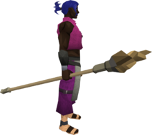 Earth staff (Dungeoneering) equipped