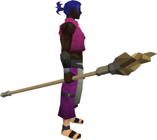 File:Earth staff (Dungeoneering) equipped.png