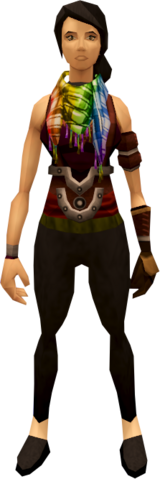 File:Chic scarf (rainbow) equipped.png