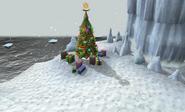 Penguin christmas tree