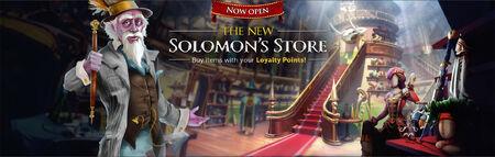 Solomon's Store Merge banner 2