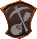 The Pick and Lute logo