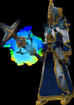 Saradomin battle mage