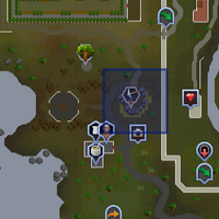 Shooting Star (west of Falador) location