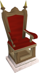 Oak throne2