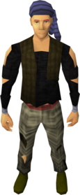 Pirate bandana (Trouble Brewing) equipped