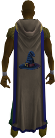 Hooded magic cape (t) equipped