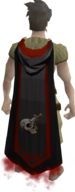 Slayer master cape equipped