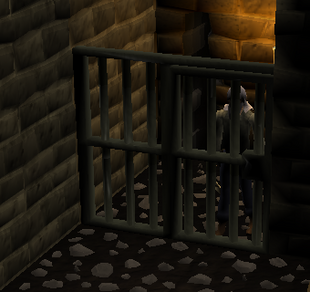 Player in cell draynor manor