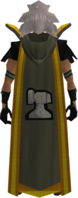 Retro hooded smithing cape (t) equipped
