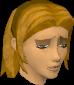 Upset woman chathead
