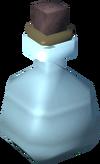 Empty bottle detail