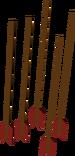 Headless arrow detail