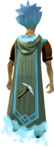 Mining master cape equipped