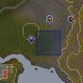 Sinkholes rellekka slayer caves map.png
