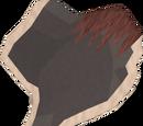 Black unicorn hide