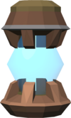 Crystal tool siphon detail