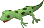 Gecko (green) pet