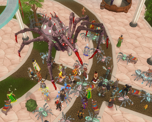 File:Araxxor in the Grand Exchange.png