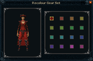 Dragon ceremonial outfit recolor interface