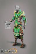 Elf worker concept