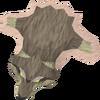 Fenris wolf pelt detail