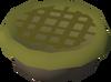 Raw garden pie detail