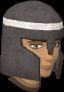 Khazard helmet chathead