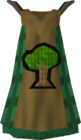 Woodcutting cape detail old