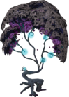 Cursed magic tree