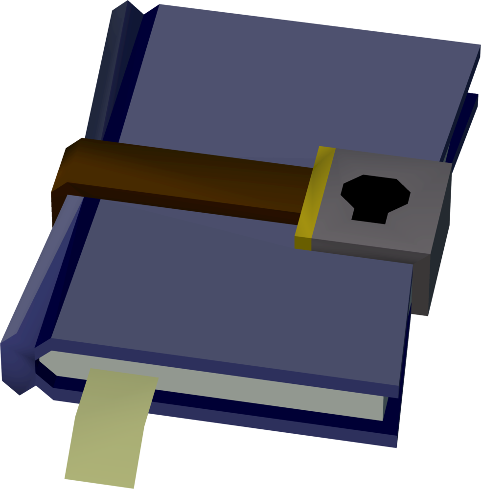 Locked diary detail