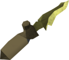 Zephyrium dagger detail