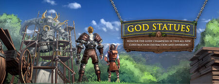 God Statues banner