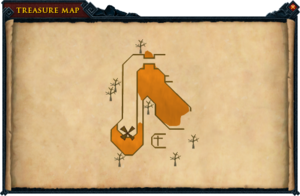 Map clue Ourania chaos altar