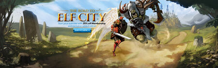 Road to Elf City head banner